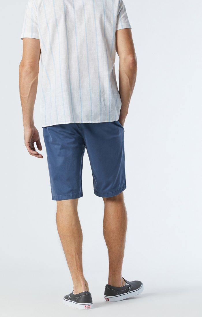 MIKE SHORTS IN VINTAGE INDIGO TWILL Image 3