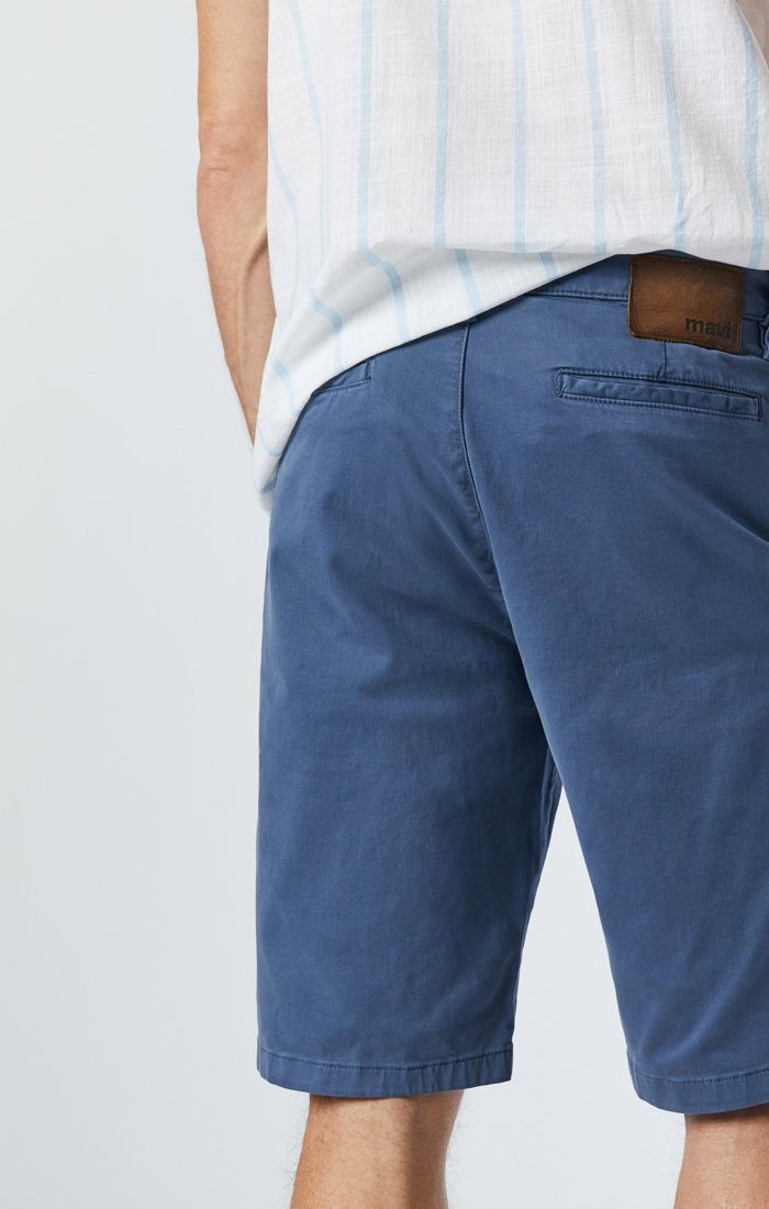 MIKE SHORTS IN VINTAGE INDIGO TWILL Image 8