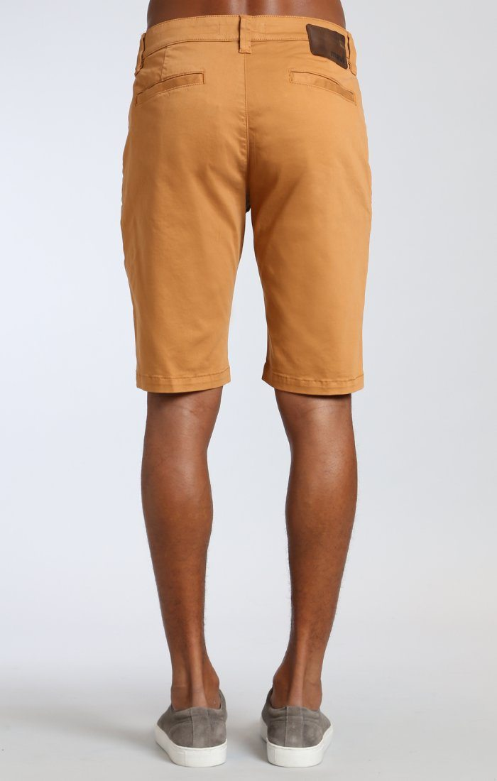 JACOB SHORTS IN ALMOND TWILL