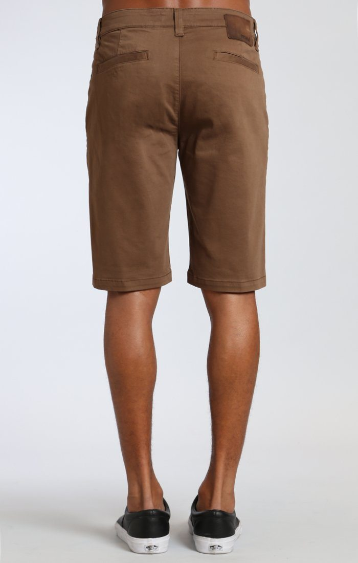 JACOB SHORTS IN SHITAKE TWILL Image 3