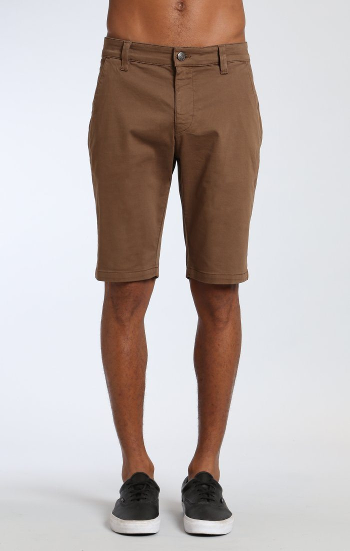 JACOB SHORTS IN SHITAKE TWILL Image 2