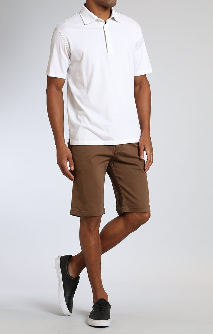 JACOB SHORTS IN SHITAKE TWILL Image 1