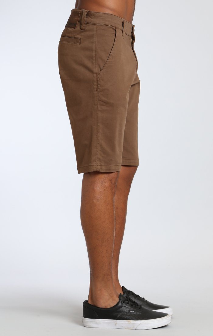 JACOB SHORTS IN SHITAKE TWILL Image 4