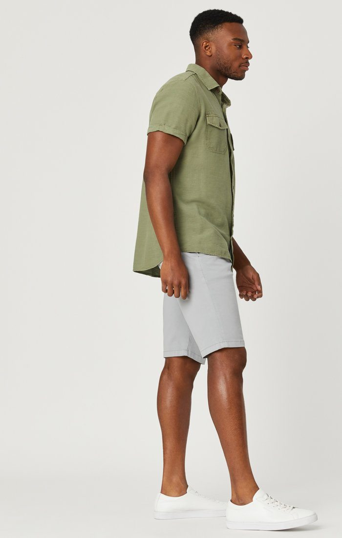 JACOB SHORTS IN QUARRY SUMMER TWILL Image 1