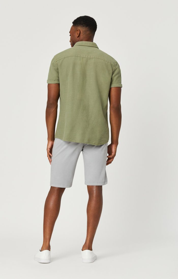 JACOB SHORTS IN QUARRY SUMMER TWILL Image 6