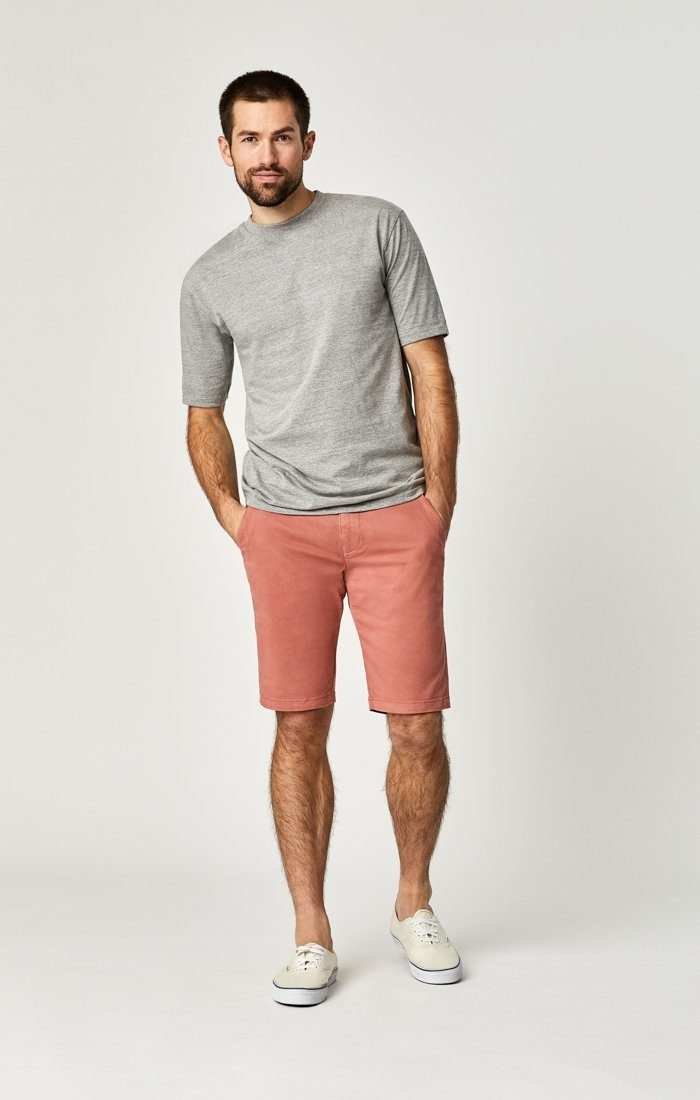 JACOB SHORTS IN BRICK DUST SUMMER TWILL Image 1