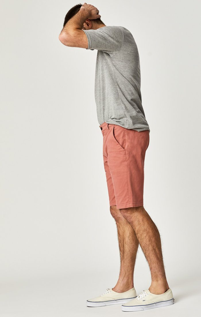 JACOB SHORTS IN BRICK DUST SUMMER TWILL Image 7