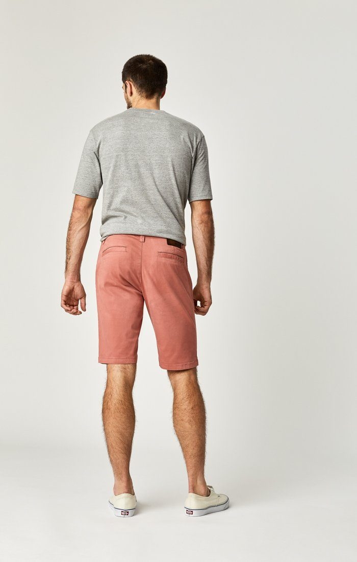 JACOB SHORTS IN BRICK DUST SUMMER TWILL Image 8