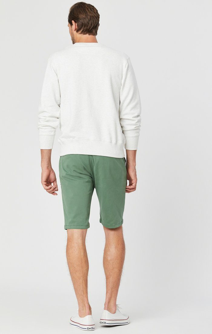 JACOB SHORTS IN GRASS TWILL Image 3
