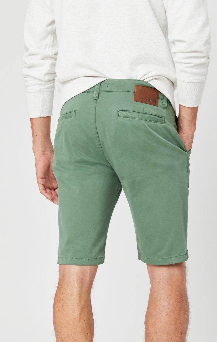 JACOB SHORTS IN GRASS TWILL Image 5