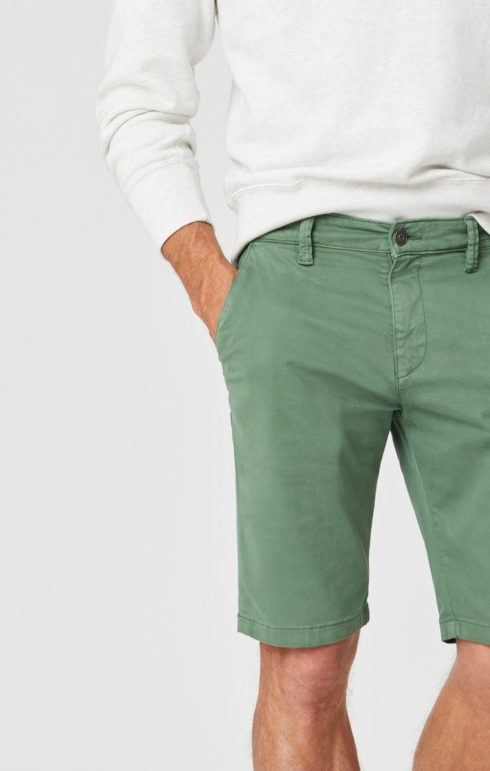 JACOB SHORTS IN GRASS TWILL Image 6
