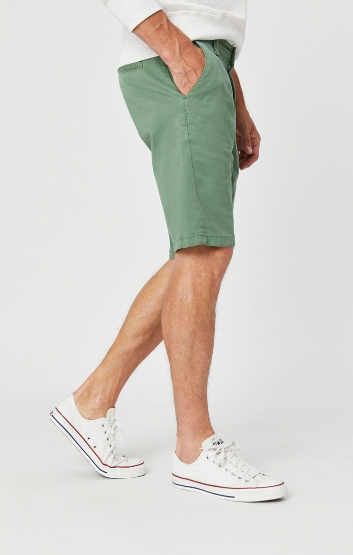 JACOB SHORTS IN GRASS TWILL Image 7