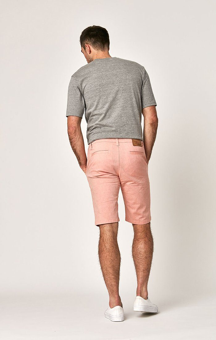 JACOB SHORTS IN RED DOT FANCY TWILL - Mavi Jeans