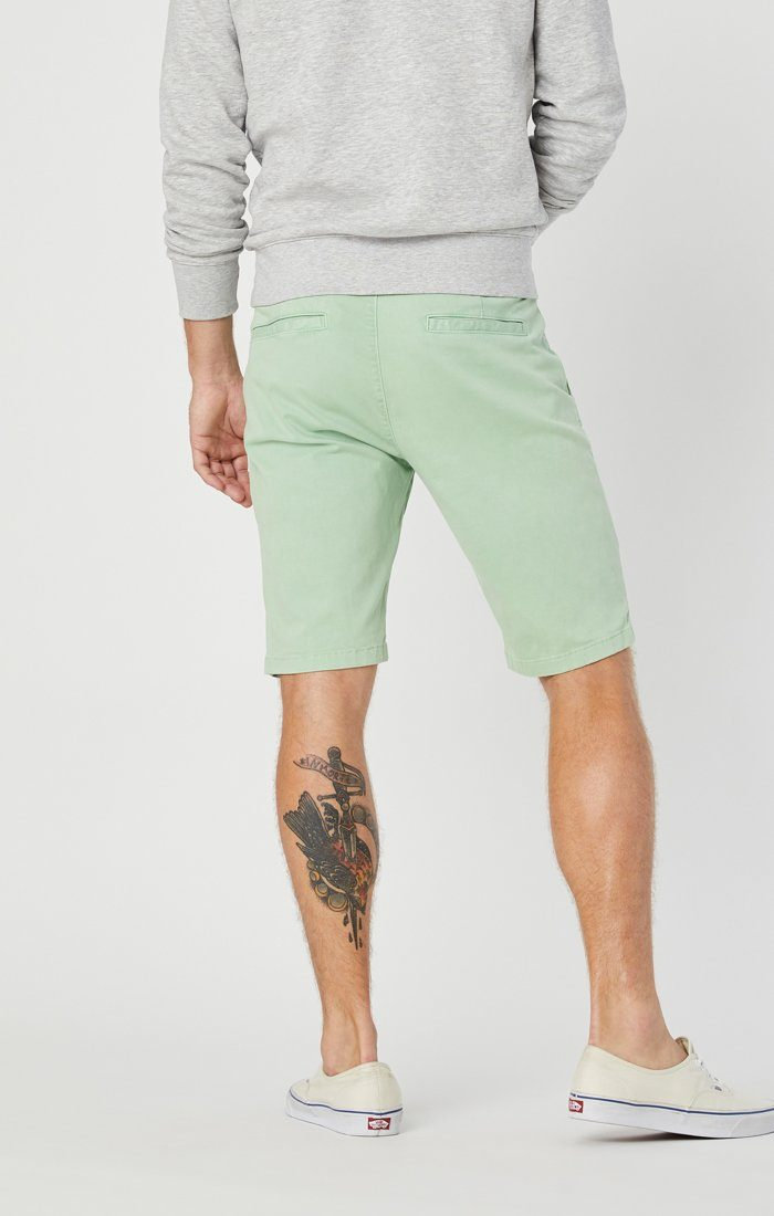 JACOB SHORTS IN MINT SATEEN Image 4