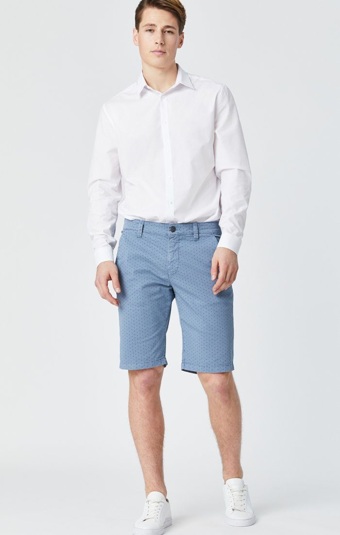 Mavi Men's Jacob Shorts In Blue Fancy