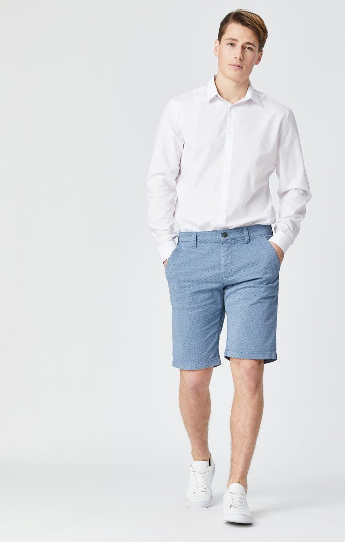 JACOB SHORTS IN BLUE FANCY Image 1