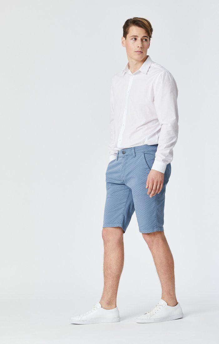 JACOB SHORTS IN BLUE FANCY Image 5