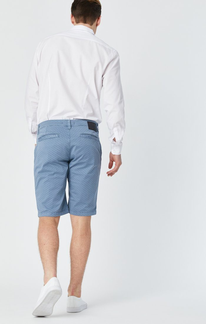 JACOB SHORTS IN BLUE FANCY Image 7