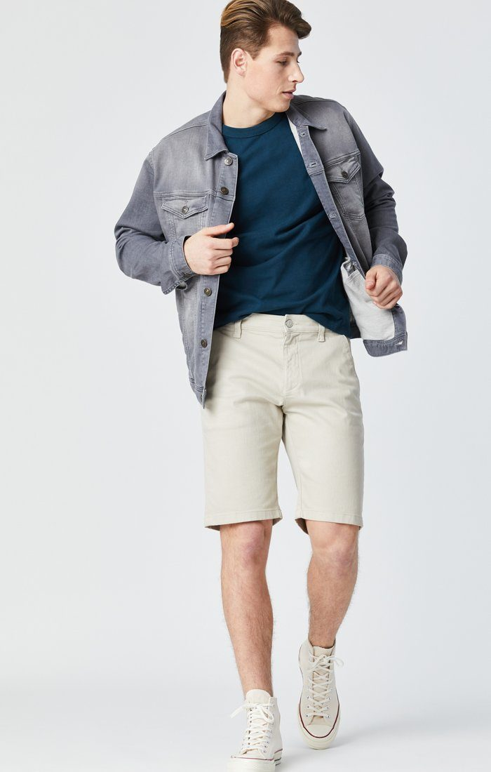 JACOB SHORTS IN STONE COMFORT Image 1