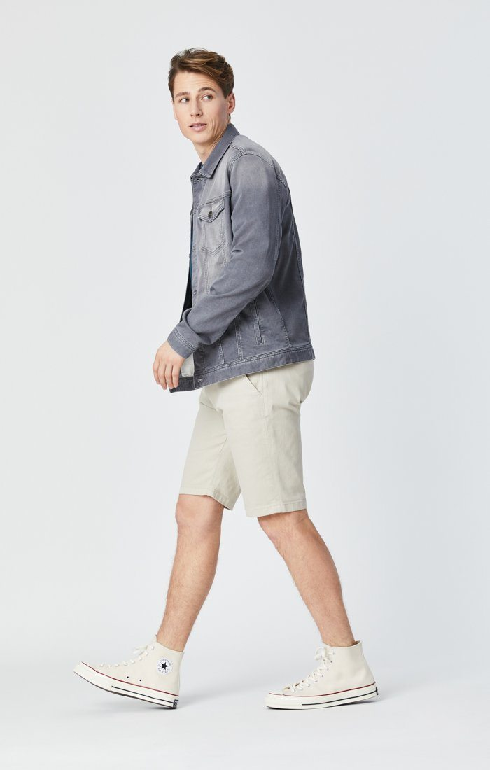 JACOB SHORTS IN STONE COMFORT Image 4