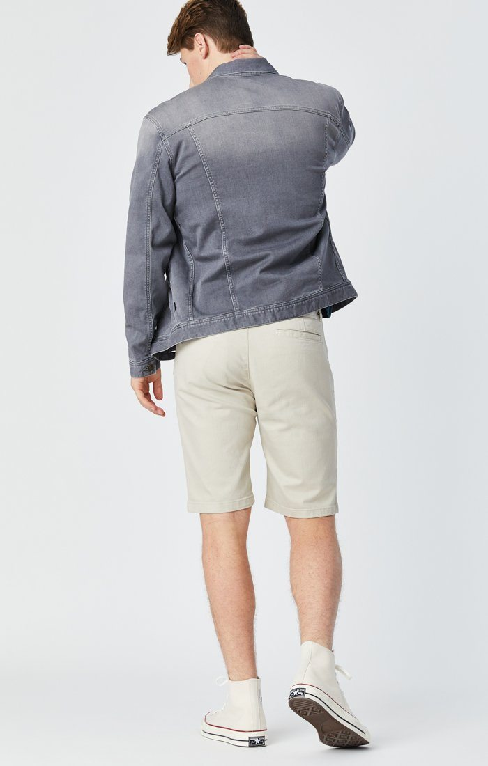 JACOB SHORTS IN STONE COMFORT Image 5
