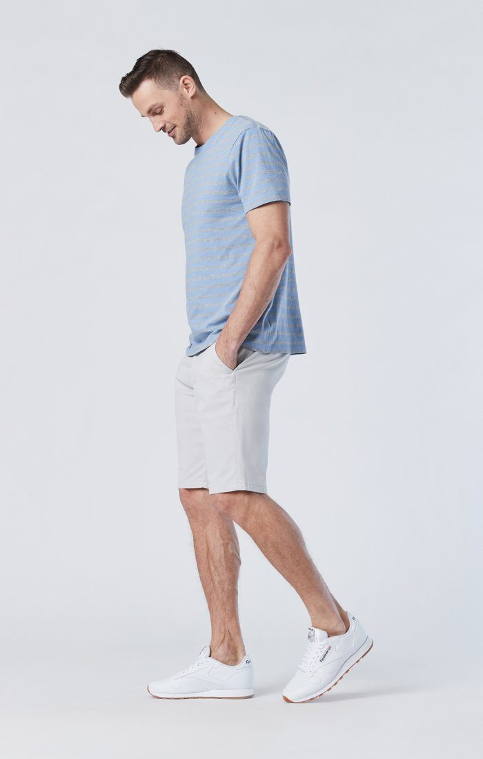 JACOB SHORTS IN OYSTER MUSHROOM TWILL Image 2