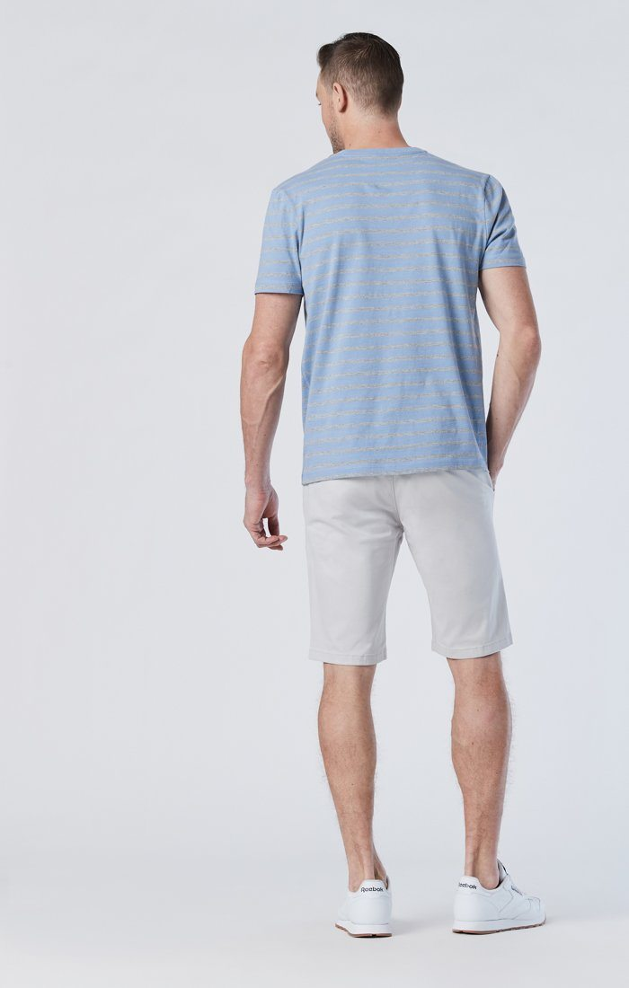 JACOB SHORTS IN OYSTER MUSHROOM TWILL Image 3