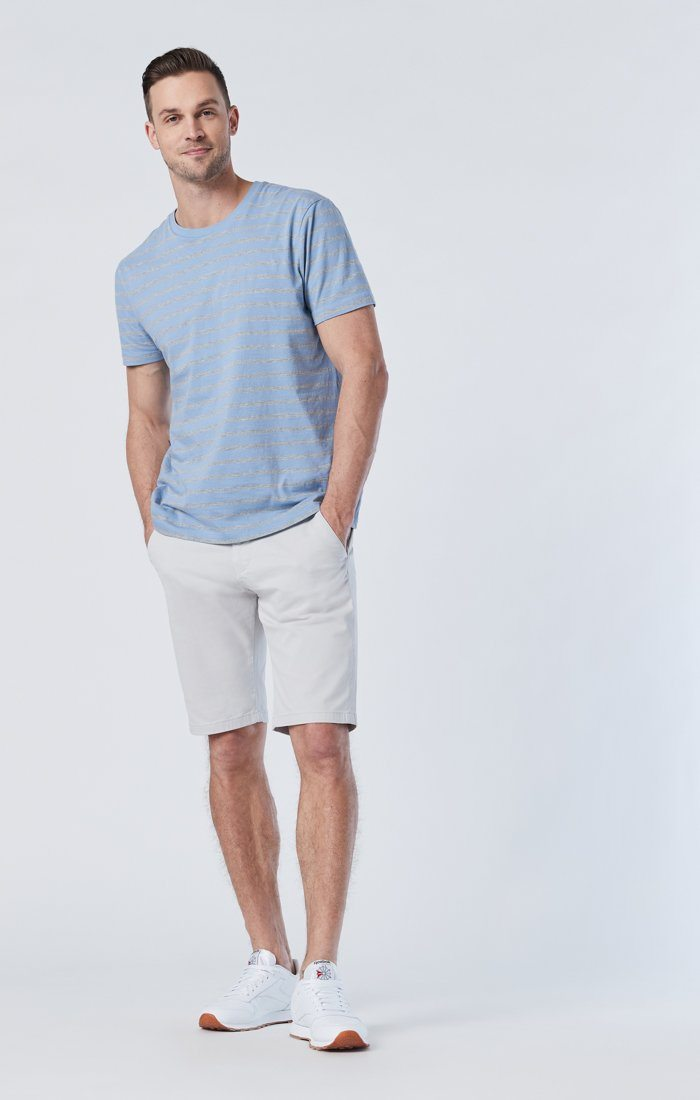JACOB SHORTS IN OYSTER MUSHROOM TWILL Image 1