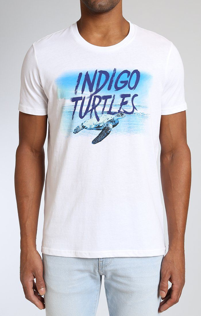 INDIGO TURTLES T-SHIRT