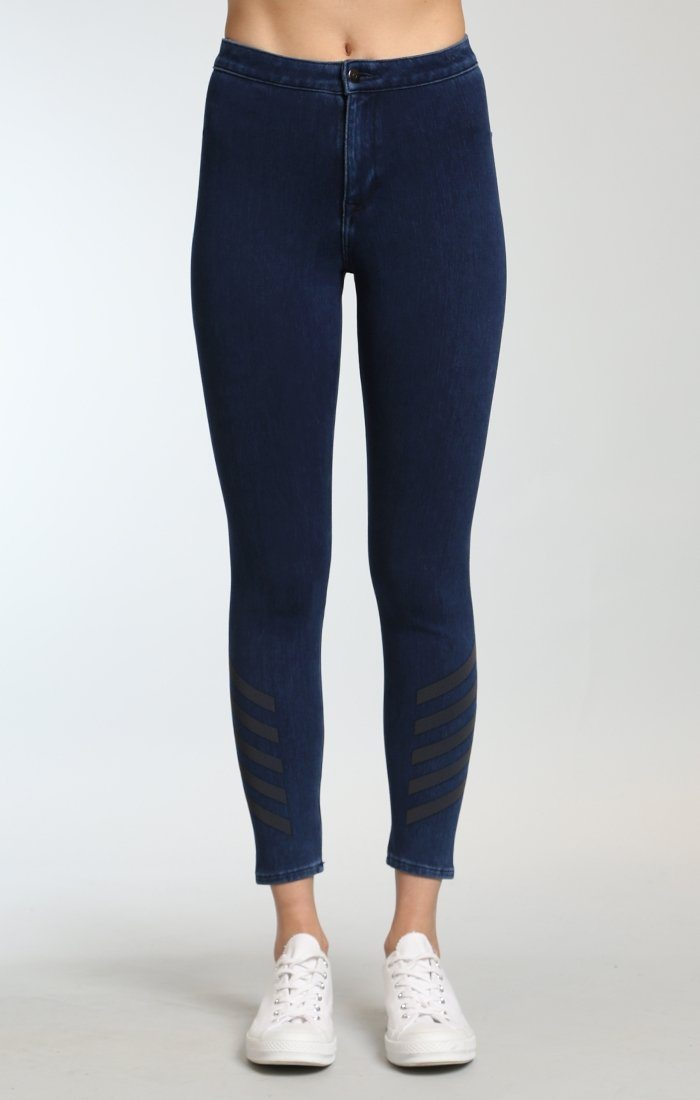JOIE HIGH RISE SPORTY  IN DARK INDIGO MOVE