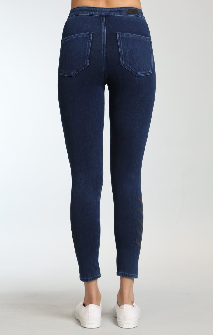 JOIE HIGH RISE SPORTY IN DARK INDIGO MOVE - Mavi Jeans