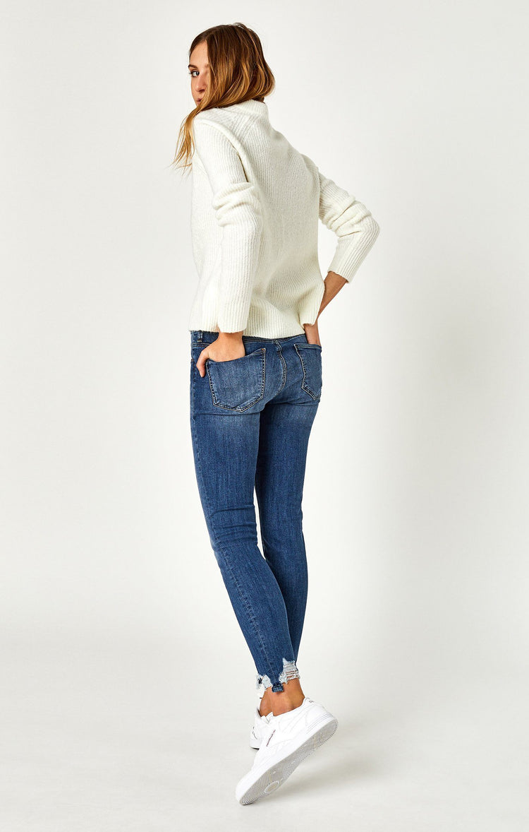 TESS SUPER SKINNY IN SHADED DESTRUCTED VINTAGE