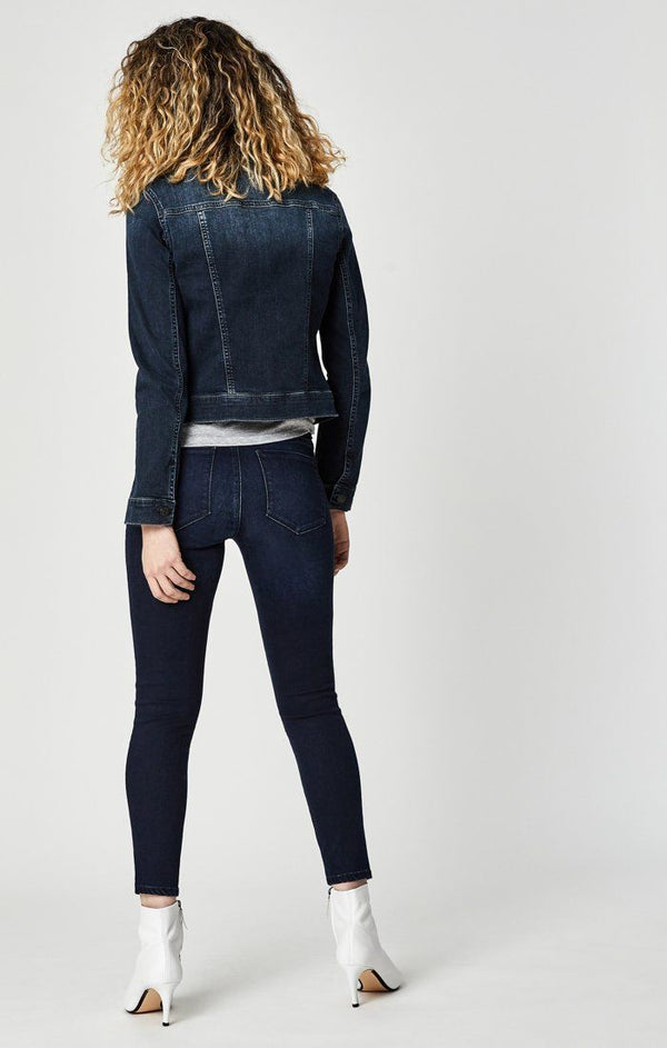 TESS SUPER SKINNY IN DEEP GOLD LUX MOVE - Mavi Jeans