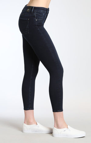 TESS SUPER SKINNY IN INK BRUSHED INDIGO MOVE - Mavi Jeans