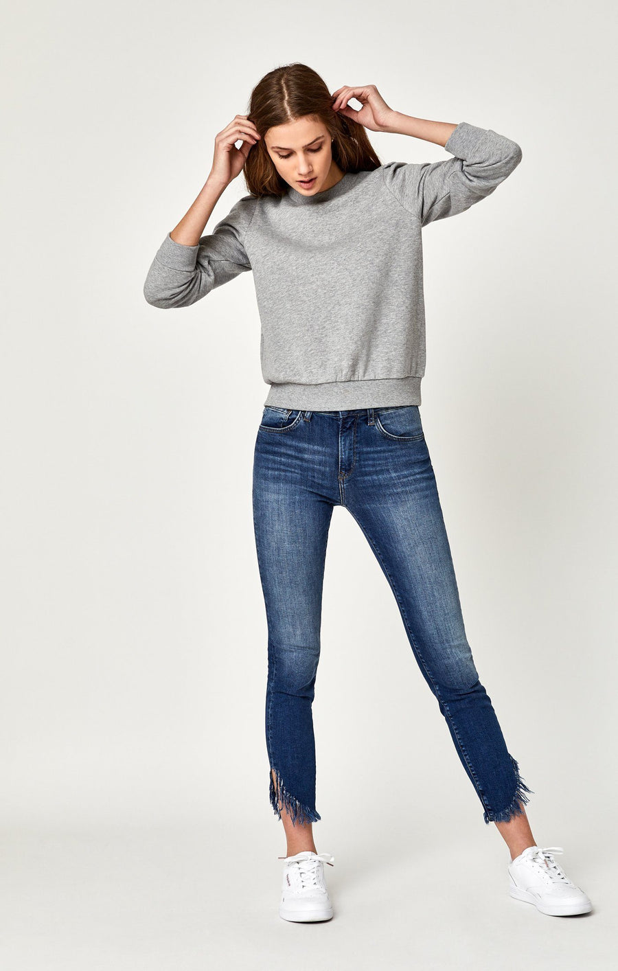 TESS SUPER SKINNY IN EXTREME RIPPED VINTAGE - Mavi Jeans