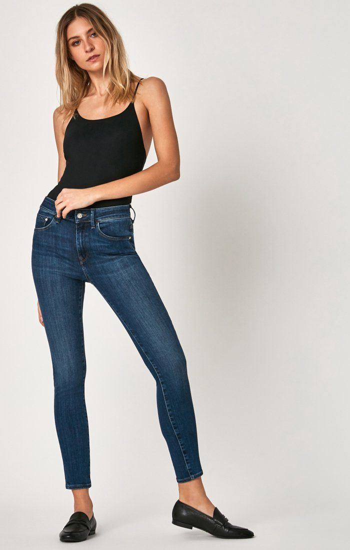 TESS SUPER SKINNY IN INDIGO SUPERSOFT - Mavi Jeans