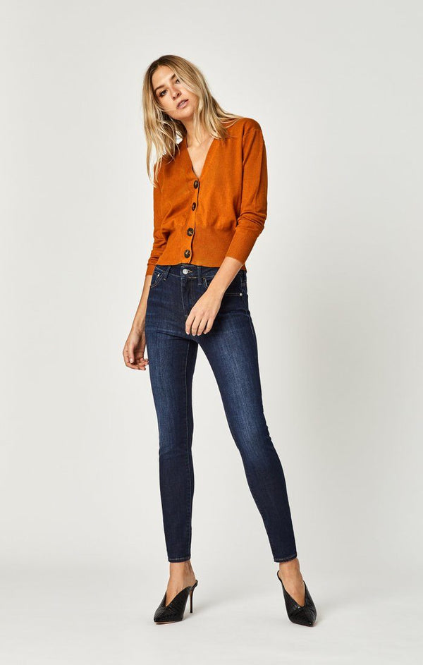 TESS SUPER SKINNY IN DEEP SUPERSOFT - Mavi Jeans