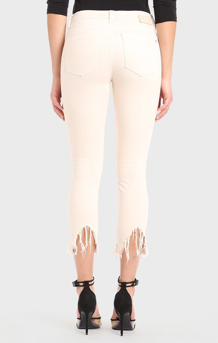 TESS SUPER SKINNY IN HEAVENLY PINK FRINGE - Mavi Jeans