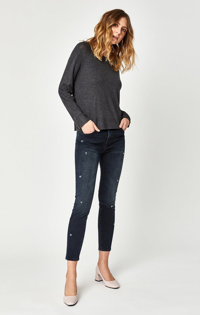 TESS SUPER SKINNY IN INK SHINY - Mavi Jeans