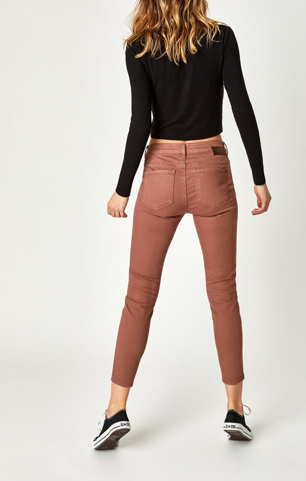 TESS SUPER SKINNY IN CLOVE WASHED - Mavi Jeans