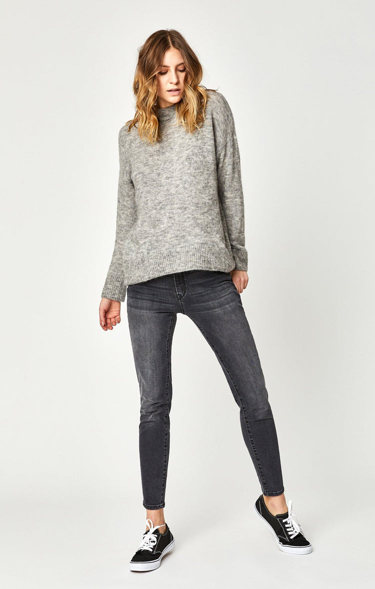 TESS SUPER SKINNY IN DARK GREY VINTAGE - Mavi Jeans