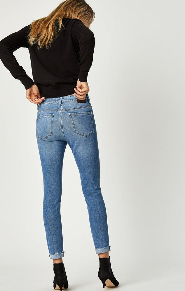 TESS SUPER SKINNY IN MID BLUE 90'S STR - Mavi Jeans