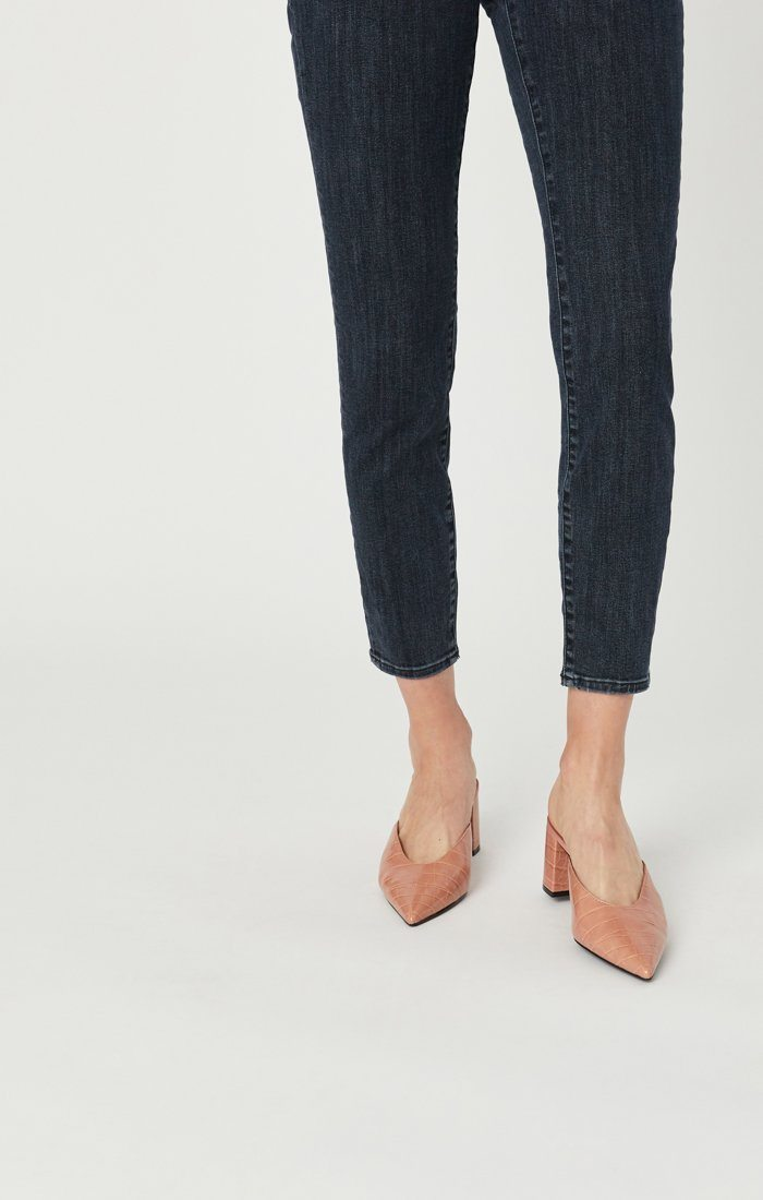 TESS SUPER SKINNY JEANS IN SMOKY BLUE STRETCH Image 8