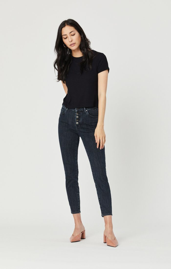 TESS SUPER SKINNY JEANS IN SMOKY BLUE STRETCH Image 1