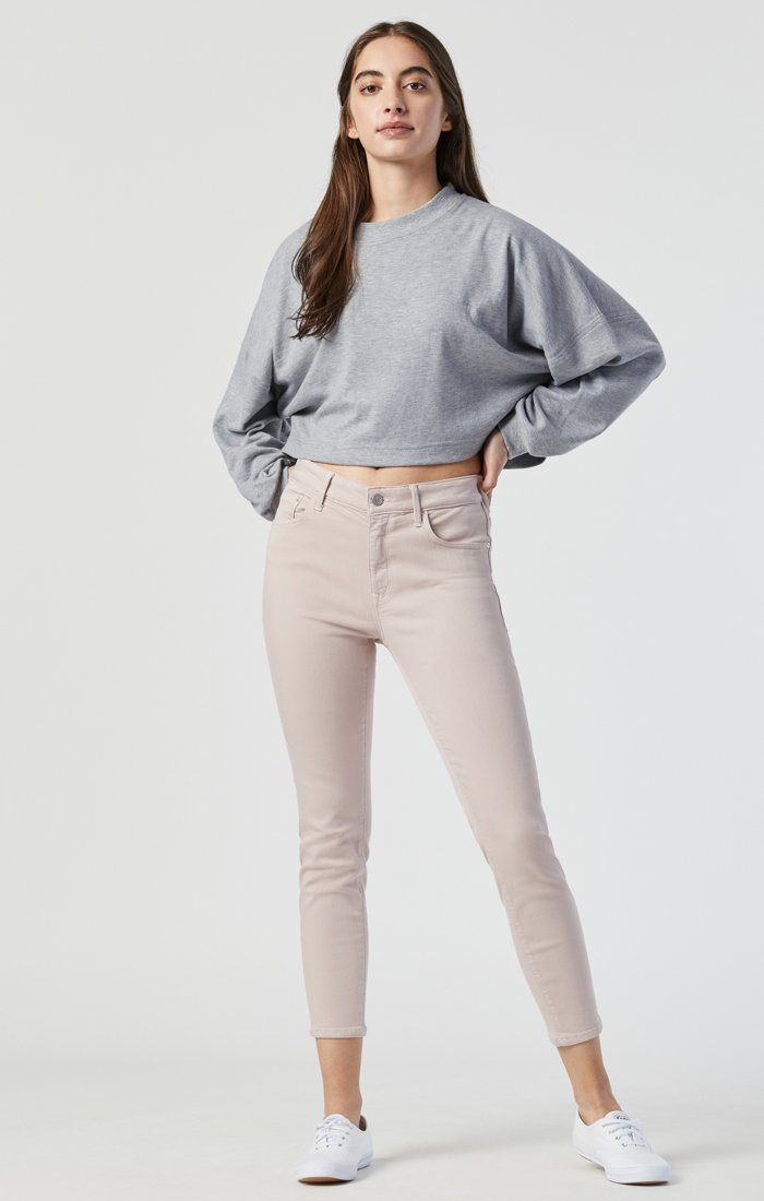 TESS SKINNY IN BURNISHED LILAC SUPERSOFT Image 1