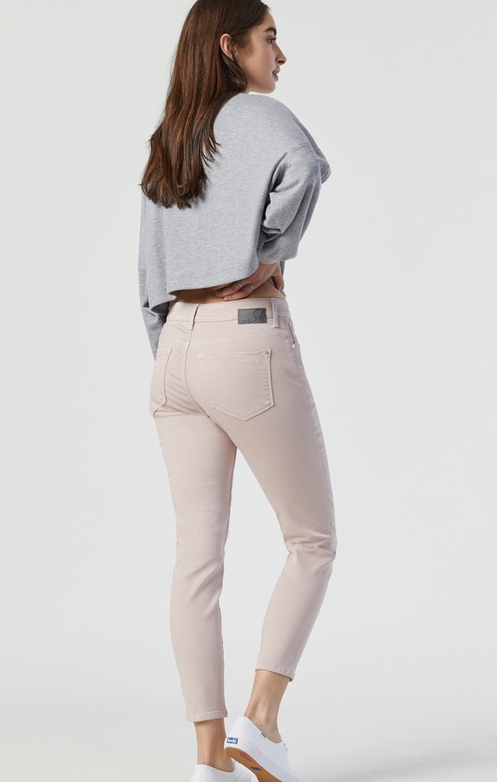 TESS SKINNY IN BURNISHED LILAC SUPERSOFT Image 3