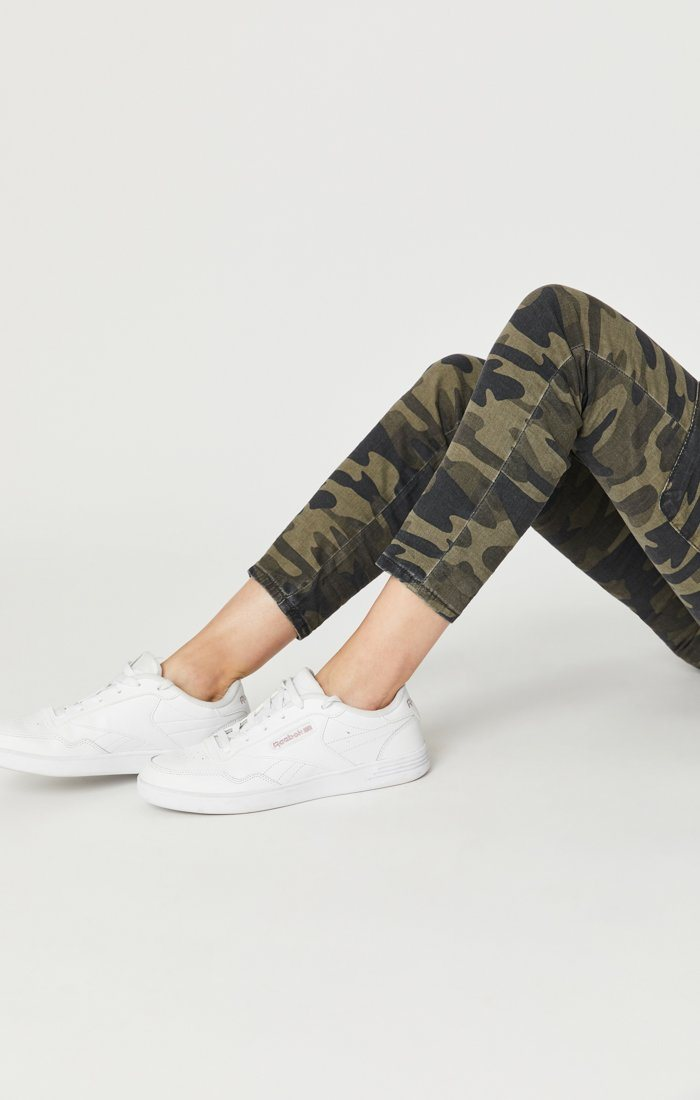 JULIETTE SKINNY CARGO IN MILITARY CAMOUFLAGE Image 8