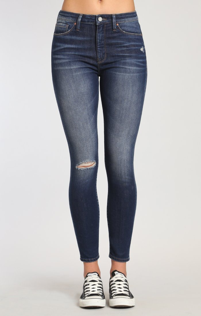 LUCY SUPER SKINNY IN OCEAN BLUE VINTAGE