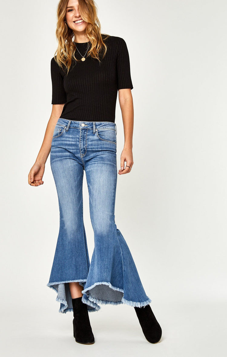 LARISSA FLOUNCE FLARE IN LIGHT - Mavi Jeans
