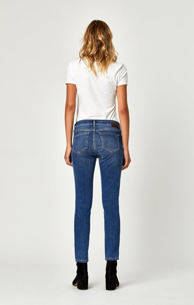 TESS SUPER SKINNY IN SLIT SHADED - Mavi Jeans